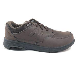 New Balance 813 Brown Walking Shoes 4E MW813BR